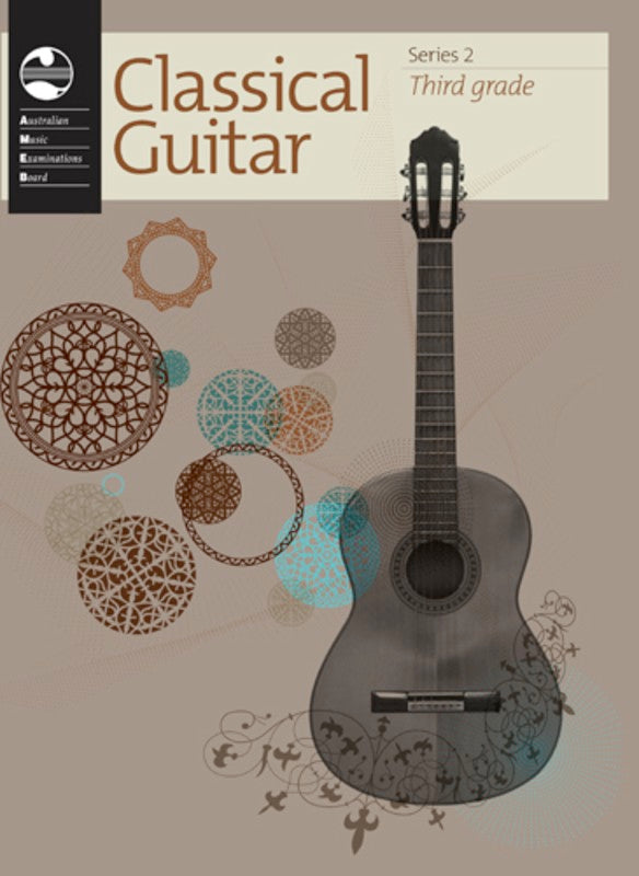 CLASSICAL GUITAR GRADE 3 SERIES 2 AMEB