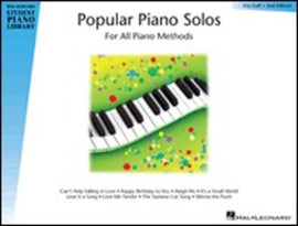 HLSPL POPULAR PIANO SOLOS PRESTAFF LEVEL
