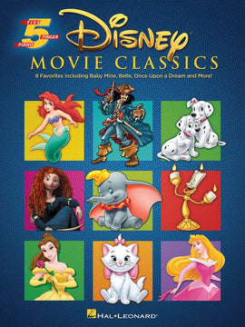 DISNEY MOVIE CLASSICS FIVE FINGER PIANO