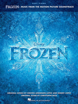 FROZEN FROM THE MOTION PICTURE EASY PIANO