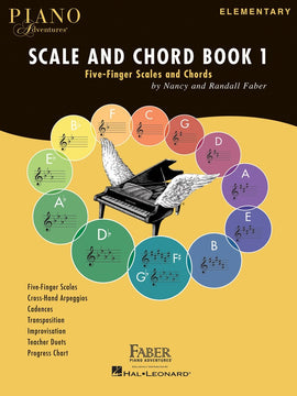 PIANO ADVENTURES SCALE AND CHORD BK 1