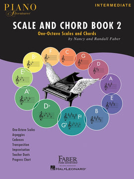 PIANO ADVENTURES SCALE AND CHORD BK 2