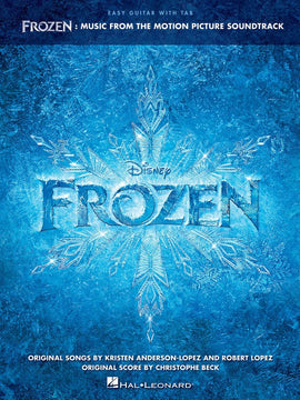 FROZEN MUSIC MOTION PICTURE EASY GUITAR & TAB