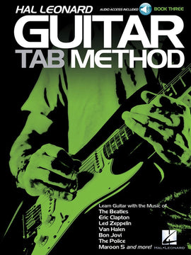 HL GUITAR TAB METHOD BK 3 BK/OLA