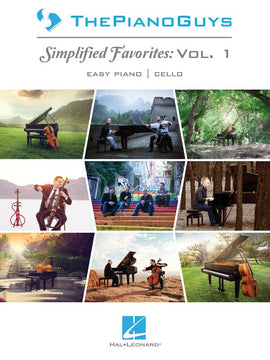 PIANO GUYS SIMPLIFIED FAVORITES VOL 1 EASY PIANO & CELLO