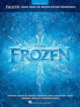 FROZEN MUSIC FROM THE MOTION PICTURE PIANO SOLO