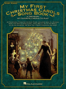 MY FIRST CHRISTMAS CAROLS SONGBOOK EASY PIANO