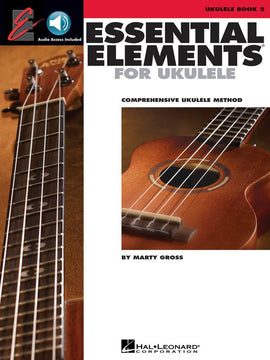 ESSENTIAL ELEMENTS FOR UKULELE BK 2 BK/OLA EE