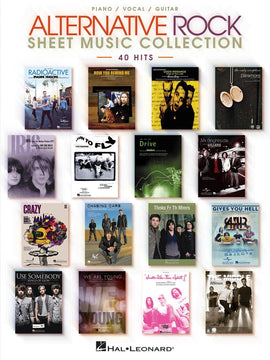 ALTERNATIVE ROCK SHEET MUSIC COLLECTION PVG