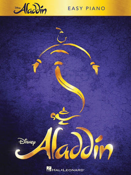 ALADDIN BROADWAY MUSICAL EASY PIANO