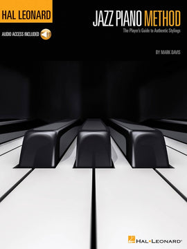 HAL LEONARD JAZZ PIANO METHOD BK/OLA
