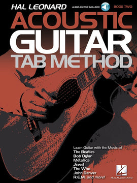 HL ACOUSTIC GUITAR TAB METHOD BK 2 BK/OLA