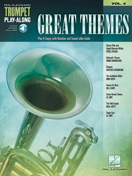 GREAT THEMES TRUMPET PLAY ALONG V4 BK/OLA