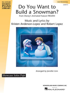 DO YOU WANT TO BUILD A SNOWMAN? EASY PIANO EP