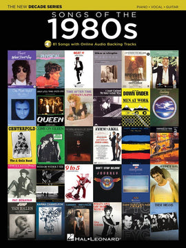 SONGS OF THE 1980S PVG BK/OLA