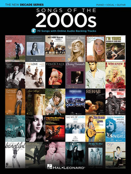 SONGS OF THE 2000S PVG BK/OLA