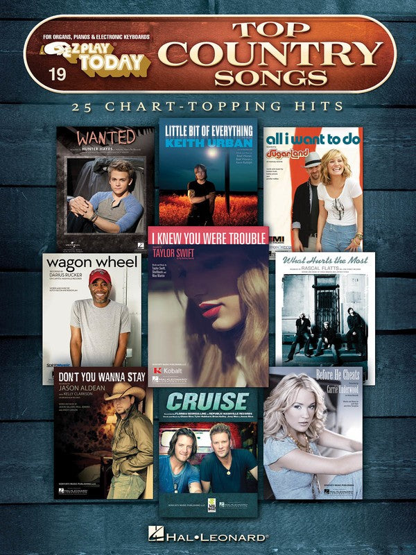 EZ PLAY 19 TOP COUNTRY SONGS