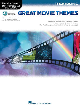 GREAT MOVIE THEMES TROMBONE BK/OLA