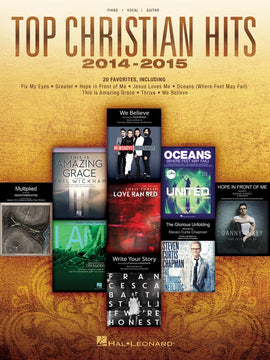 TOP CHRISTIAN HITS 2014-2015 PVG