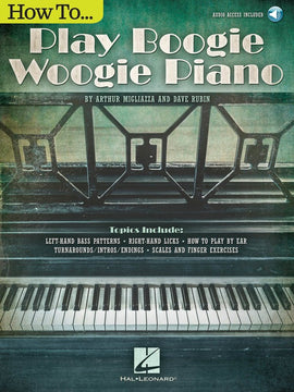 HOW TO PLAY BOOGIE WOOGIE PIANO BK/OLA