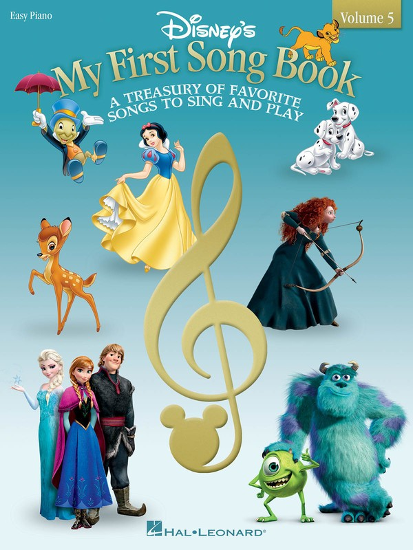 DISNEYS MY FIRST SONGBOOK VOL 5 EASY PIANO