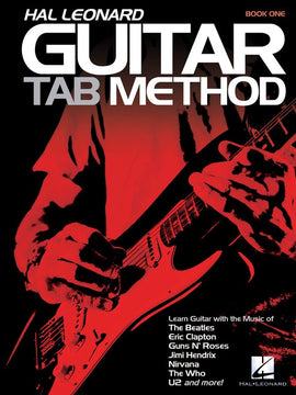 HL GUITAR TAB METHOD BK ONLY