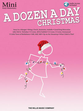 A DOZEN A DAY CHRISTMAS SONGBOOK - MINI BK/OLA