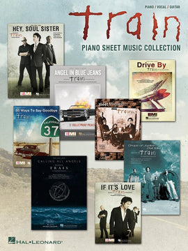 TRAIN PIANO SHEET MUSIC COLLECTION PVG