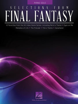 SELECTIONS FROM FINAL FANTASY PIANO SOLO