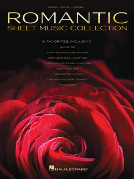 ROMANTIC SHEET MUSIC COLLECTION PVG