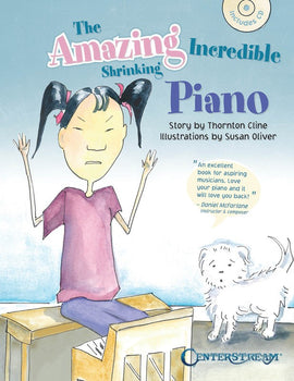 AMAZING INCREDIBLE SHRINKING PIANO BK/CD