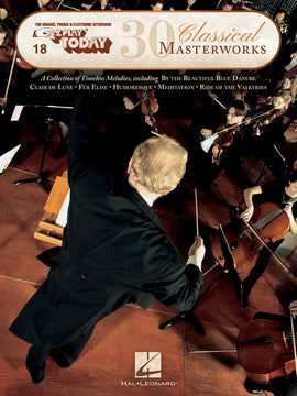 EZ PLAY 018 30 CLASSICAL MASTERWORKS