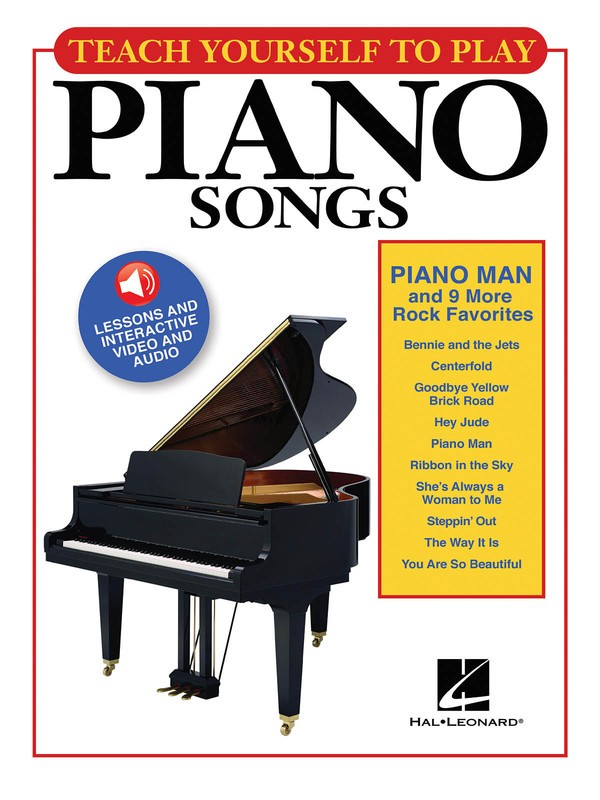 TEACH YOURSELF PIANO PIANO MAN BK/OLA