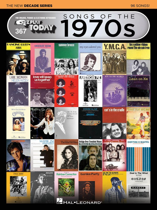 EZ PLAY 367 SONGS OF 1970S NEW DECADE SERIES