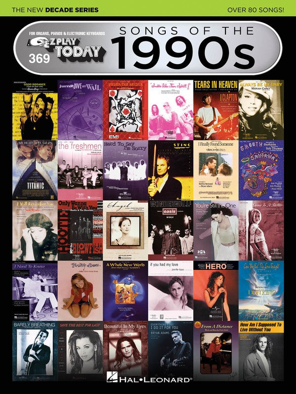 EZ PLAY 369 SONGS OF 1990S NEW DECADE SERIES