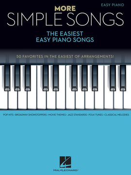 MORE SIMPLE SONGS EASIEST EASY PIANO SONGS