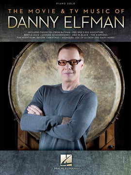 THE MOVIE & TV MUSIC OF DANNY ELFMAN PIANO SOLO
