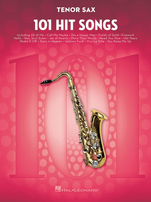101 HIT SONGS FOR TENOR SAX