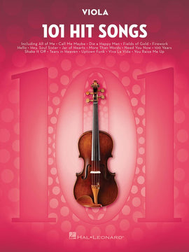 101 HIT SONGS FOR VIOLA