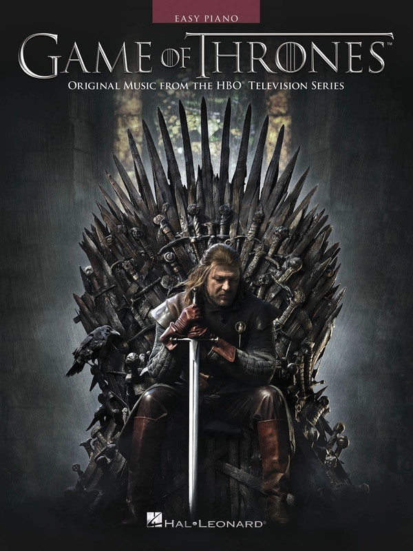 GAME OF THRONES EASY PIANO SONGBOOK