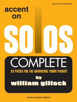 GILLOCK - ACCENT ON SOLOS COMPLETE