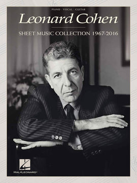 LEONARD COHEN - SHEET MUSIC COLLECTION 1967-2016 PVG