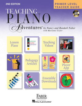 PRIMER LEVEL TEACHER GUIDE PIANO ADVENTURES 2ND EDITION