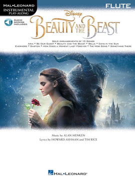 BEAUTY AND THE BEAST FOR FLUTE BK/OLA