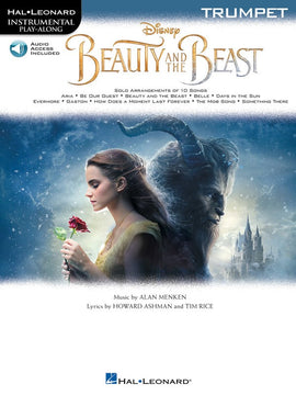 BEAUTY AND THE BEAST FOR TRUMPET BK/OLA