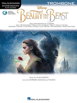 BEAUTY AND THE BEAST FOR TROMBONE BK/OLA