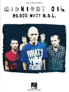 MIDNIGHT OIL - 20,000 WATT R.S.L. PVG