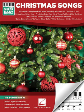 CHRISTMAS SONGS SUPER EASY SONGBOOK