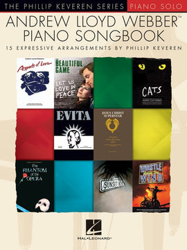 ANDREW LLOYD WEBBER PIANO SONGBOOK KEVEREN SERIES