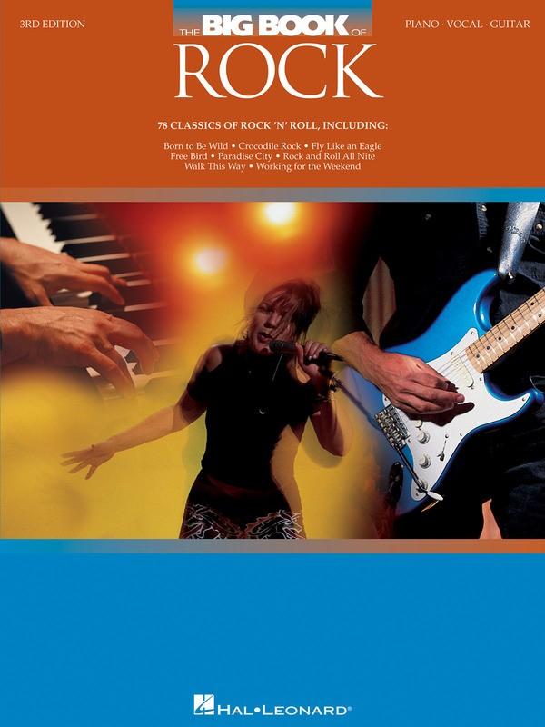 THE BIG BOOK OF ROCK 3RD ED PVG